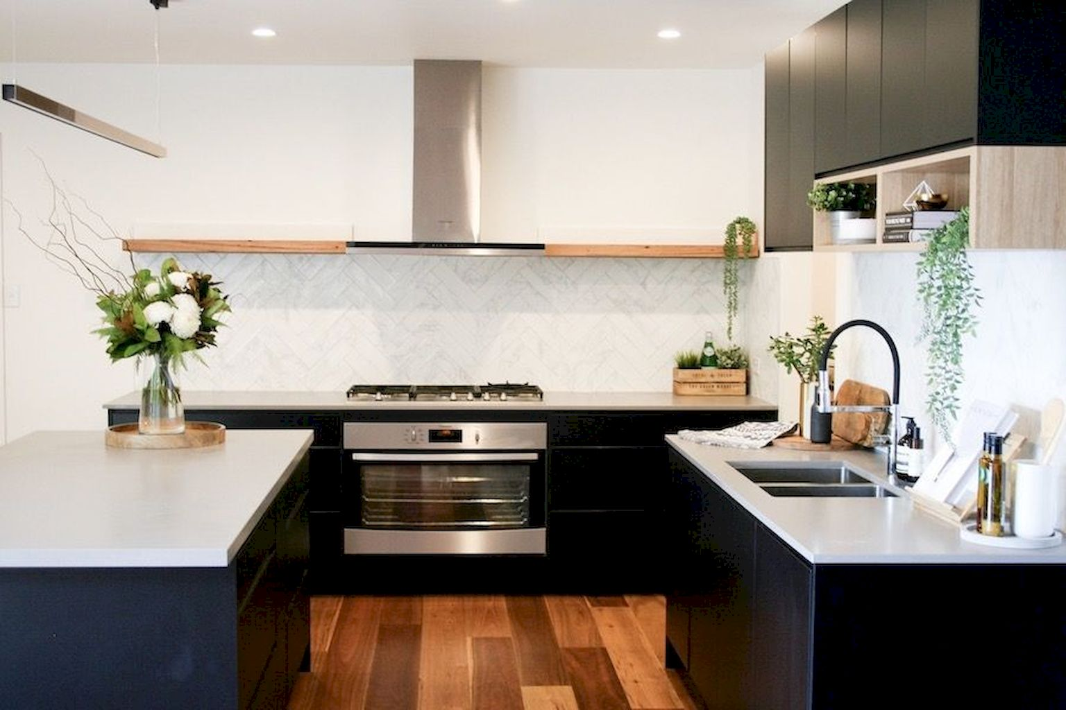Minimalist Kitchens With Timeless Decoration Shairoom Com