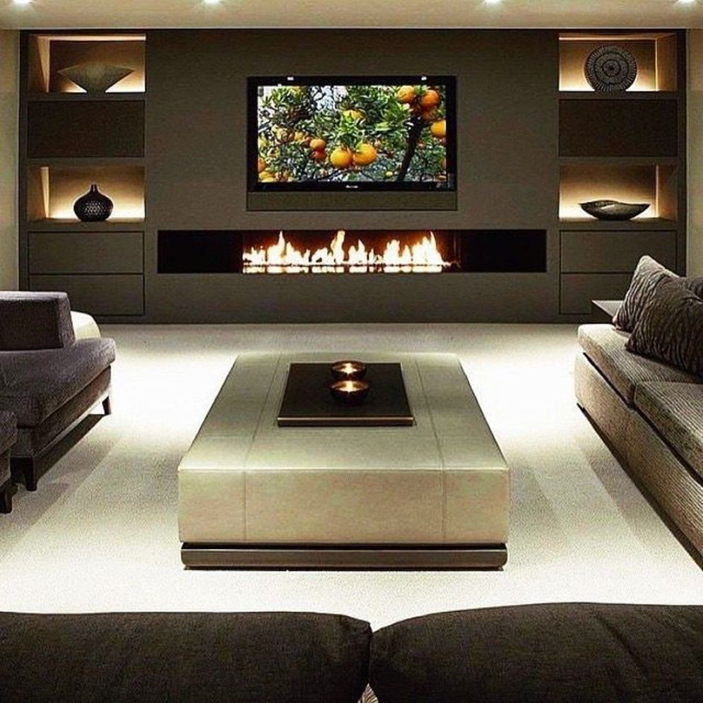 Best Fireplace TV Wall Ideas - The Good Advice For ...